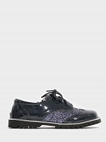 Lady Oxford Navy Glitter